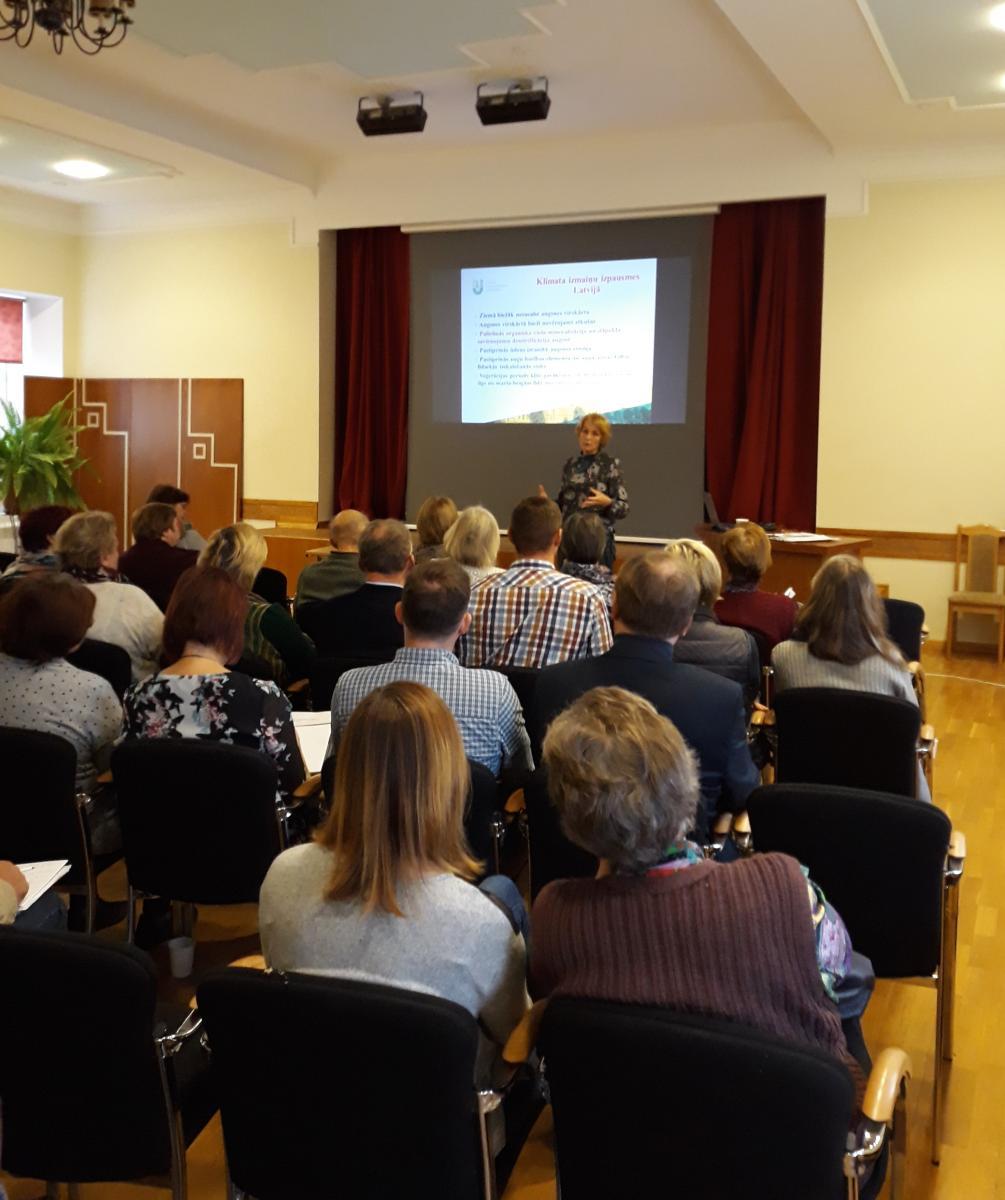 Seminar in Latvia